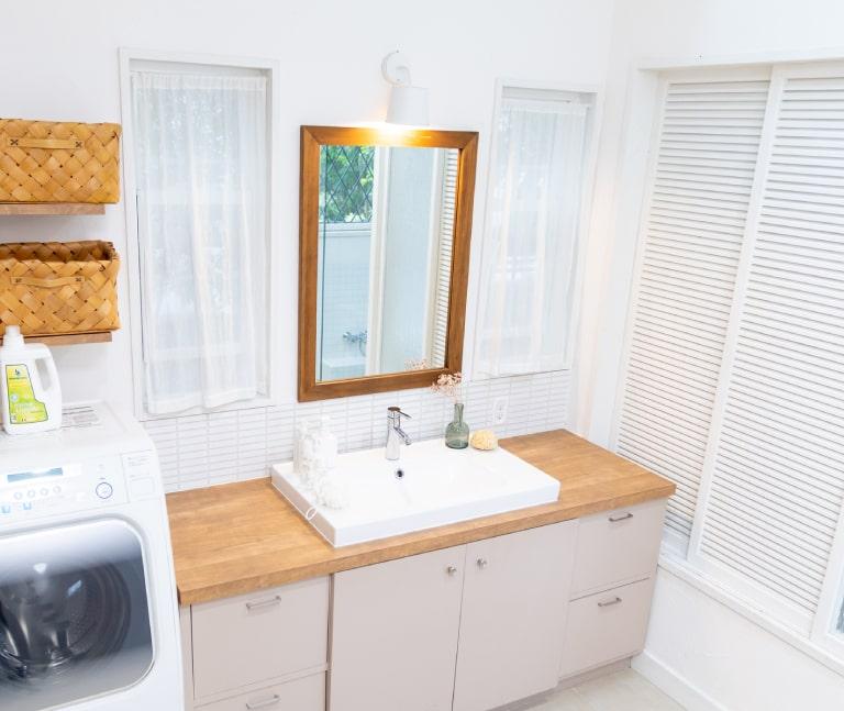 洗面所の施工内容
